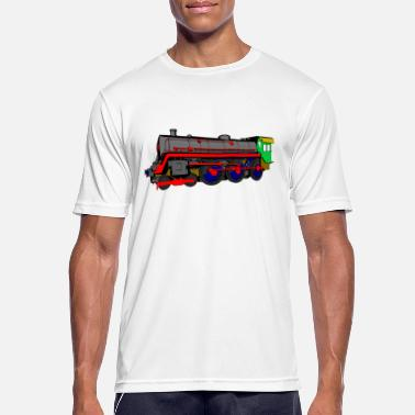 Steam Locomotive Steam locomotive - Men's Sport T-Shirt