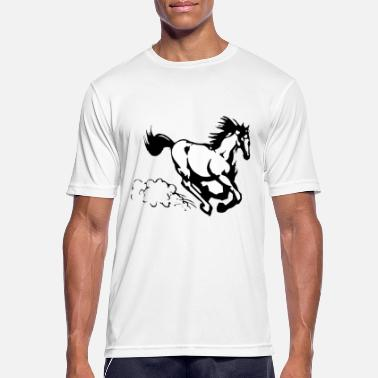 Equine Design Galloping horse - Men's Breathable T-Shirt
