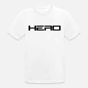 hero logo men s premium t shirt spreadshirt DC Superhero Logos men s sport t shirt