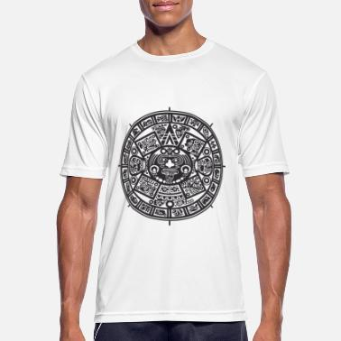 Black And White Collection Azteken - Men's Breathable T-Shirt