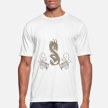 Chinese Dragon Awesome chinese dragon - Men's Sport T-Shirt