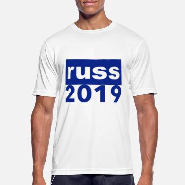 Gymnasium Clothing Russ blue blue gift 2019 russetress russian clothes - Men's Breathable T-Shirt