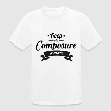 Competitor Keep The Composure - Men's Breathable T-Shirt