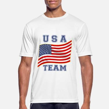 Team Usa usa team - T-shirt sport Homme