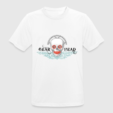 Gearhead - the saintly biker - Men's Breathable T-Shirt