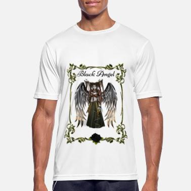 Angel Angel, Black Angel, Mystic Angel - Herre T-shirt svedtransporterende