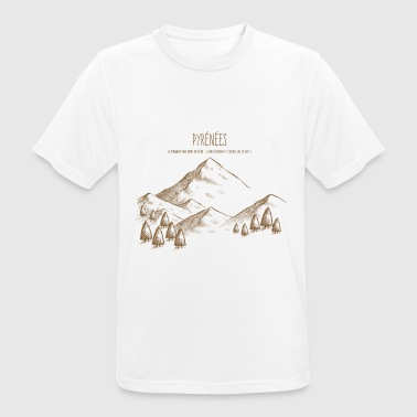 pyrenees - T-shirt respirant Homme