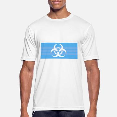 Facemask biohazard facemask - Sports T-shirt mænd