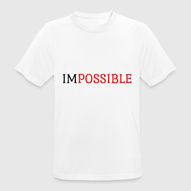 Impossible Impossible - Men's Breathable T-Shirt