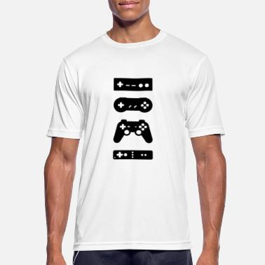 Game Console Gaming console controller - Men's Sport T-Shirt