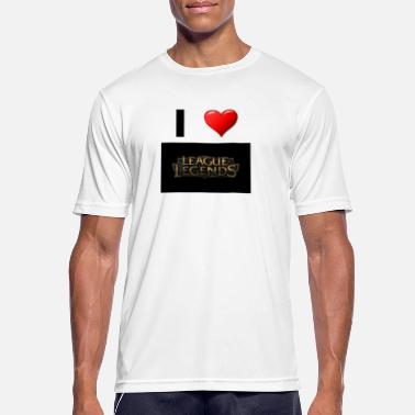 League Game League of Legend Gaming love gift idea - Men's Breathable T-Shirt
