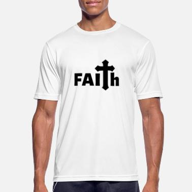 Jerusalem FAITH Jesus Church Religion Gift Christianity - Men's Sport T-Shirt
