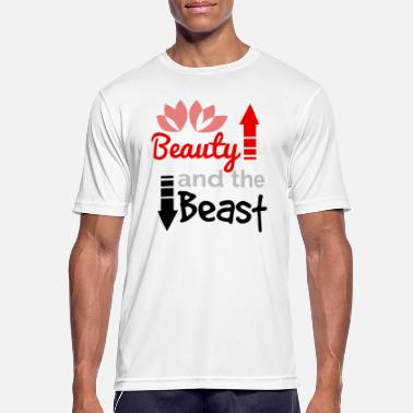 This Beauty Is A Beast Beauty and the Beast - (The) Beauty and the Beast - Men's Breathable T-Shirt