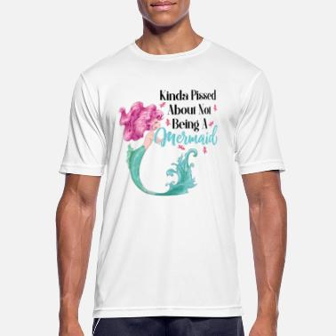 Offend Offended mermaid wish new job friend - Men's Sport T-Shirt