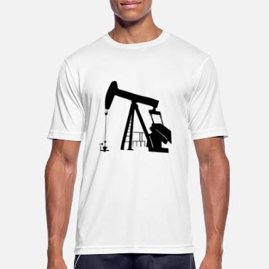 Spill This is where oil is made for the world - Men's Sport T-Shirt