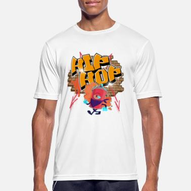 Beatbox Hip Hop graffiti - Men's Sport T-Shirt