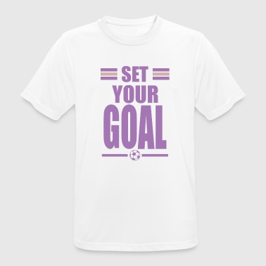 Soccer goal - Men's Breathable T-Shirt