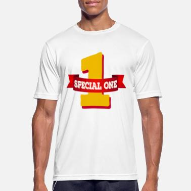Special Number Special One - The special number one - Men's Breathable T-Shirt