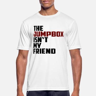 the jumpbox isn't my friend - Männer Sport T-Shirt