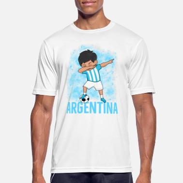 Soccer Fan Argentina Soccer Fan Soccer Argentina - Men's Breathable T-Shirt