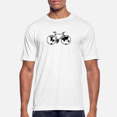 Bikes Planet bike, bike, bike, BMX, mountain bike - Men's Sport T-Shirt