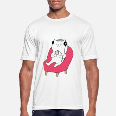 Cutecat - Men's Sport T-Shirt