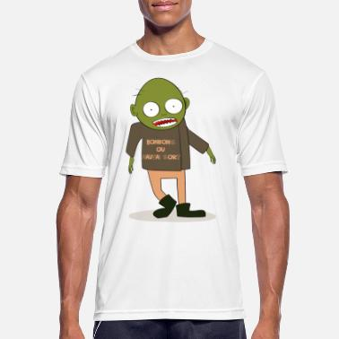 Greedy Zombie greedy - Men's Breathable T-Shirt