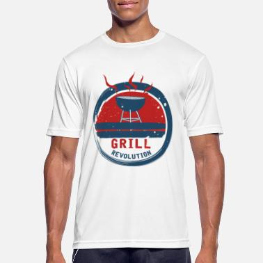 Bbq Supply BBQ Revolution - BBQ Revolution - BBQ - Men's Sport T-Shirt