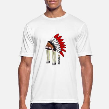 Indian Headdress Indian headdress - Men's Breathable T-Shirt