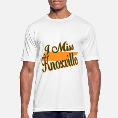 Knoxville Ich vermisse Knoxville - Männer Sport T-Shirt