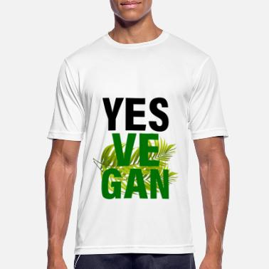 Yes Vegan - Yes We Can - Männer Sport T-Shirt