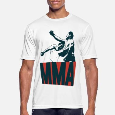 Tape Mixed Martial Arts - Herre T-shirt svedtransporterende