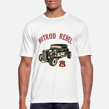 Hot Rod Hot Rod Rebel 2 - Mannen sport T-shirt