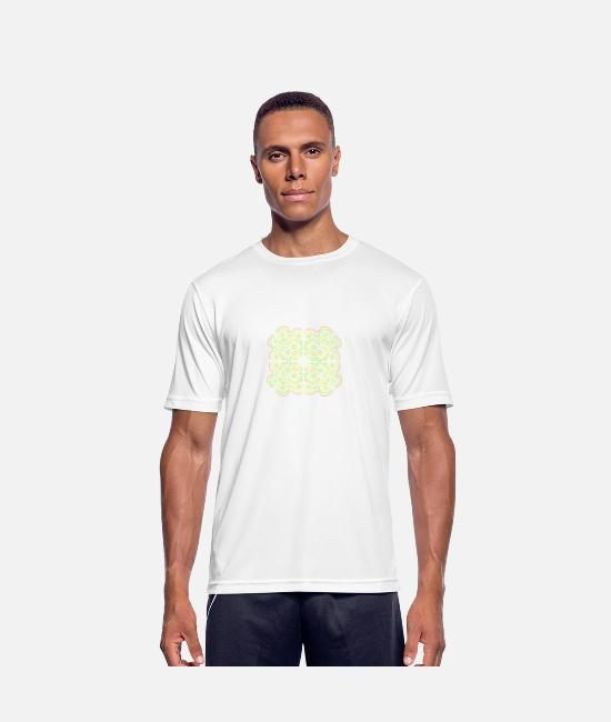 Symbol  T-Shirts - symmetry - Men's Sport T-Shirt white