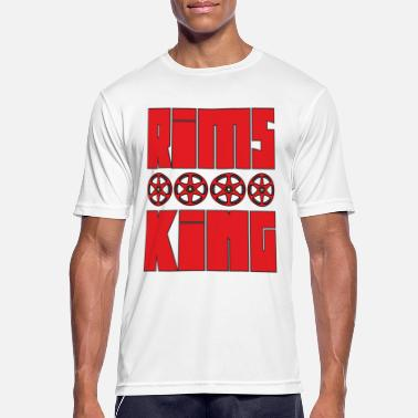 Rim Rims King - Tuner King of Rims - Men's Sport T-Shirt