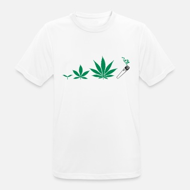 Smoke Ganja Cannabis development - Men's Breathable T-Shirt