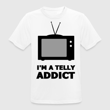 I'm A Telly Addict - Watch TV - Watch TV - Men's Breathable T-Shirt