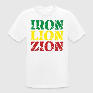 Iron Lion Zion - Men's Breathable T-Shirt