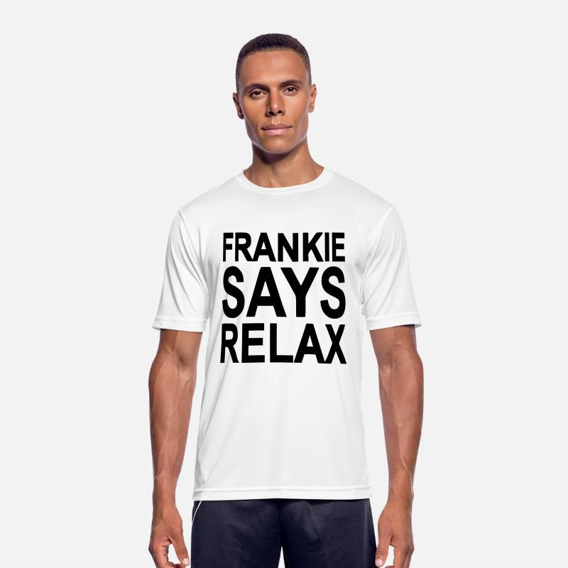 Frankie T-Shirts - Frankie says relax - Men's Sport T-Shirt white