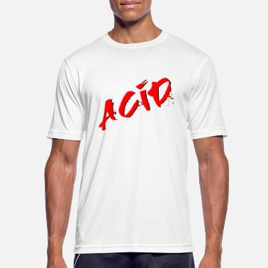 Acid Rap Acid - Techno - Acid House - Acid Rap - Mannen sport T-shirt