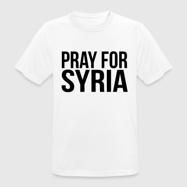 Attentat PRAY FOR SYRIA - Men's Breathable T-Shirt