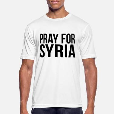 Syria War PRAY FOR SYRIA - Men's Breathable T-Shirt