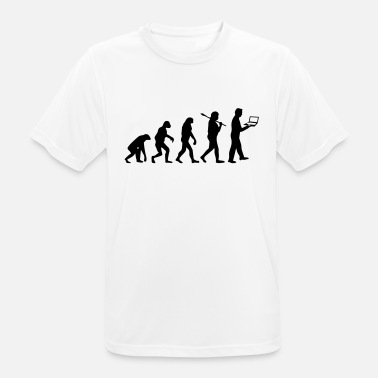 Human NERD EVOLUTION - Men's Breathable T-Shirt