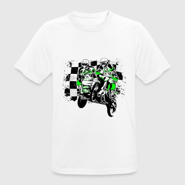 Sidecar MotoCross - Camiseta hombre transpirable