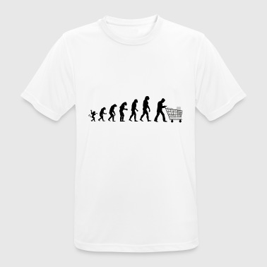 Evolution of man who buys - T-shirt respirant Homme