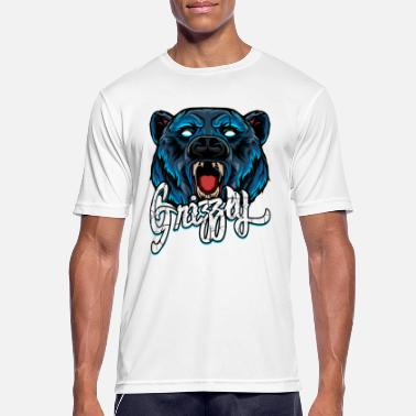 Grizzly Grizzly - Men's Breathable T-Shirt