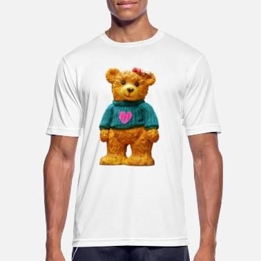Teddy Boy Teddy bear as a gift for boys and girls - Men's Breathable T-Shirt