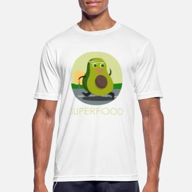Funny Sports Avocado Superfood Funny Sport Training Jogging - Men's Sport T-Shirt