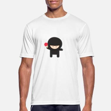 Funny Ping Pong Ping Pong Ninja Funny Design - Men's Breathable T-Shirt