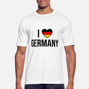 I love Germany I love Germany - Men's Sport T-Shirt